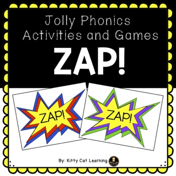 The Game of ZAP! - For Letter and Sound Recognition - Jolly Phonics Aligned