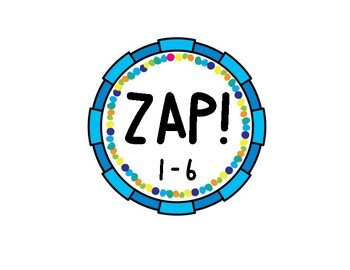 The Game of ZAP! for Number Recognition of Numbers 1-30