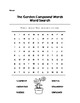 The Garden Compound Words Word Search Color/B&W with Key