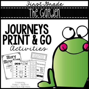 The Garden Frog and Toad Together Journeys 1st Grade Print and Go Activities