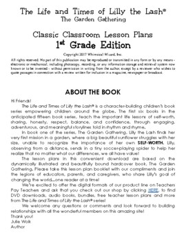 The Garden Gathering Classic Classroom Lesson Plans: 1st GRADE EDITION
