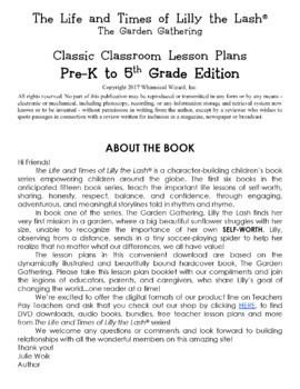 The Garden Gathering Classroom Lesson Plans: PRE-K THROUGH 5th GRADE BUNDLE