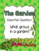 The Garden Journeys Lesson Plans and Supplemental Materials