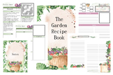 The Garden Recipe Book Planner
