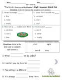The Garden - Vocabulary & Comprehension Test/Quiz (Journeys)