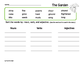 The Garden from Frog and Toad Together
