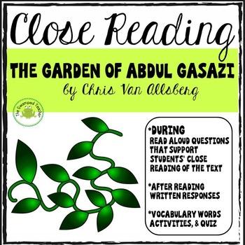 The Garden of Abdul Gasazi - Close Reading