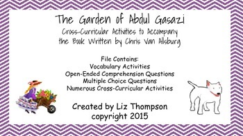 The Garden of Abdul Gasazi Mini Unit