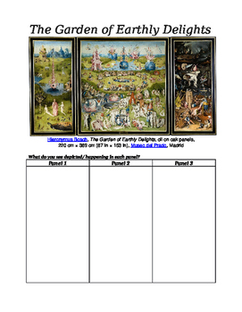 The Garden of Earthly Delights (Guided Imagery)