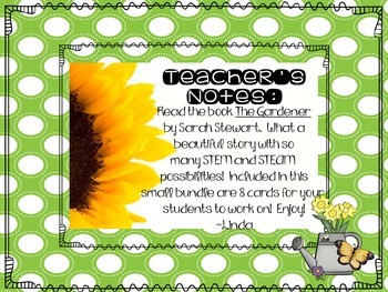 The Gardener:  STEM and STEAM Activities to Grow Student Imagination!