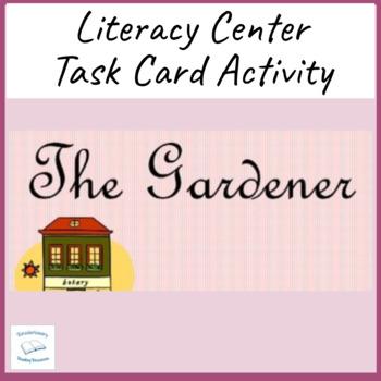 The Gardener Stewart Task Flash Literacy Cards