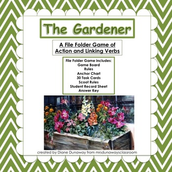 The Gardener (action and linking verbs)
