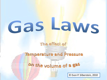 The Gas Laws (Honors Level)