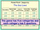 Gas Laws Jeopardy Game
