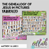 The Genealogy of Jesus in pictures - Bundled