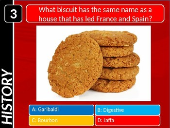 The General Knowledge Pub Quiz #16 Tutor Cross Curricular Settler End of Term