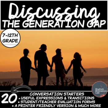 The Generation Gap- Conversation Starters