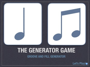 The Generator Game