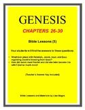 Bundle (5 weeks)  - Genesis Bible Lessons (Chs.26-30) (NKJ
