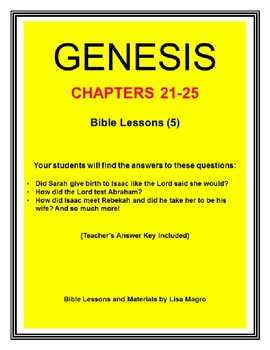 """The """"Genesis"""" (Series 5 of 5: Chapters 41-50) Bible Study Trolley"""