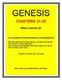 Bundle (5 weeks)  - Genesis Bible Lessons (Chs.21-25) (NKJ