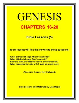 """The """"Genesis"""" (Series 4 of 5: Chapters 31-40) Bible Study Trolley"""