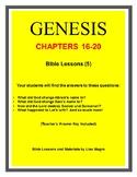 Genesis Bible Study  (Chs. 16-20)  - No Prep with Teacher'