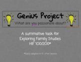 The Genius Project [Ontario} - Exploring Family Studies (H