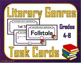 Literary Genres Task Cards