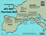 The Geography of All's Well That Ends Well