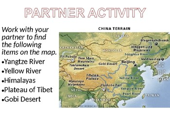 The Geography of China Lesson