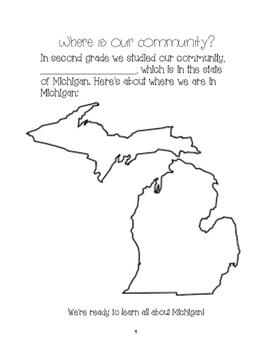 The Geography of Michigan: A Student Work Packet