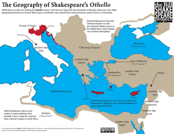 The Geography of Othello