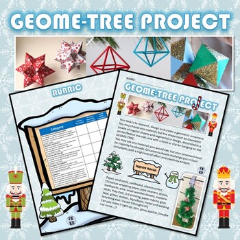 The Geome-tree Project | Festive Winter Project for Creating Geometric Ornaments