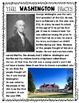 {George Washington} Informational Reading & Text Dependent