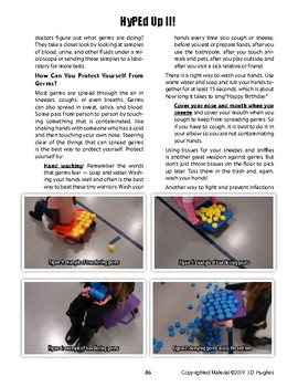 The Germ Invasion Fitness-based PE Game to Explore Facts about Germs