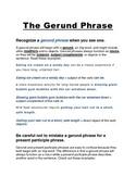 The Gerund Phrase