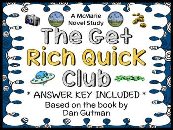 The Get Rich Quick Club (Dan Gutman) Novel Study / Reading Comprehension