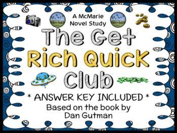 The Get Rich Quick Club (Dan Gutman) Novel Study / Reading