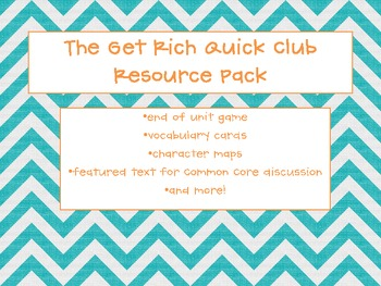 The Get Rich Quick Club- updated