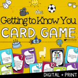 Getting To Know You: Print + Digital Game   Social Emotional Distance Learning
