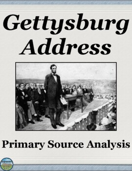 The Gettysburg Address Analysis