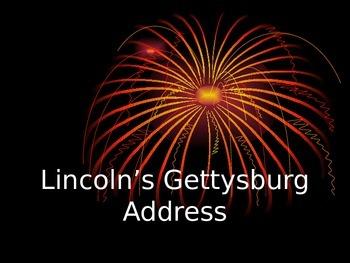 The Gettysburg Address PowerPoint