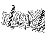 The Gettysburg Address Wordle and Analysis