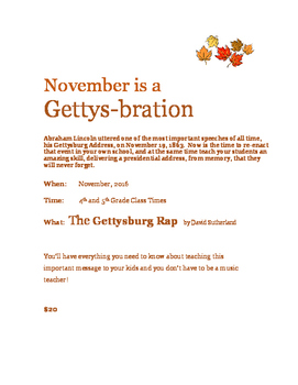 The Gettysburg Rap