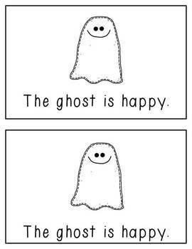 The Ghost: A Differentiated Emergent Reader with Focus Words Is, The