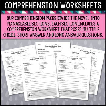 The Ghost of Crutchfield Hall Comprehension Pack