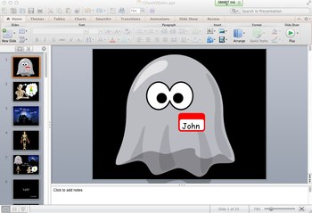 The Ghost of John (Song) Powerpoint 97-2004