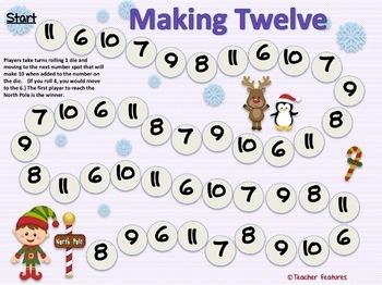 Gingerbread Man & Elf Math and Literacy Bundle