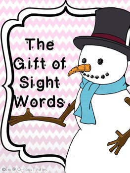 Sight Word Game: The Gift of Sight Words